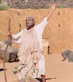 Oedipus performed in a disused quarry in Queensland, Australia, 2000. Director Greg McCart