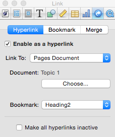 how to set up a hyperlink